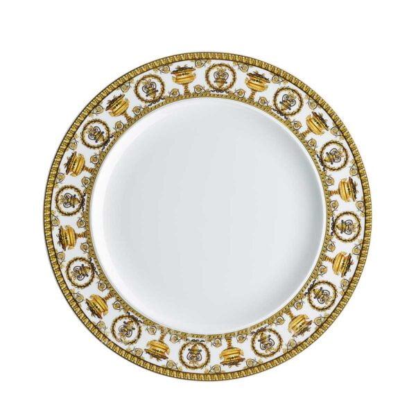 versace plate 27 cm baroque white