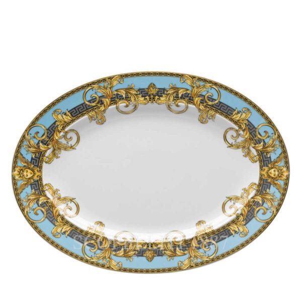 versace platter 34 cm prestige gala bleu