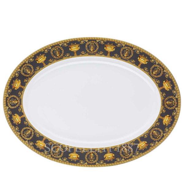 versace platter 40 cm baroque black