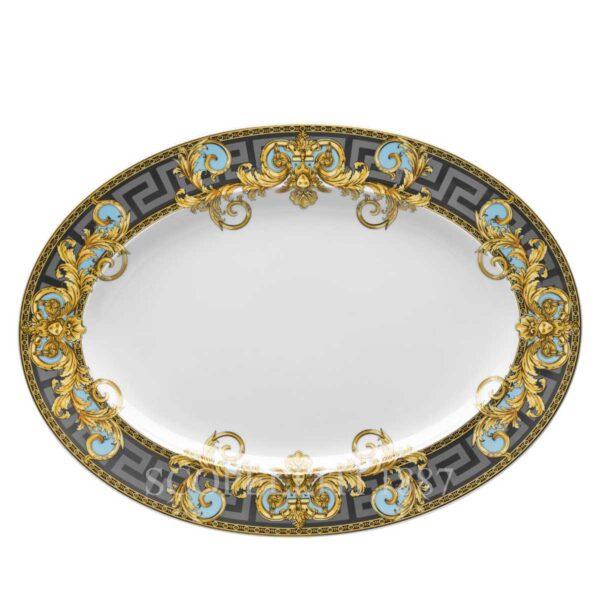 versace platter 40 cm prestige gala bleu
