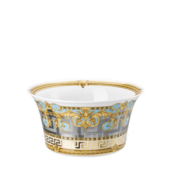 versace salad bowl 2 prestige gala bleu