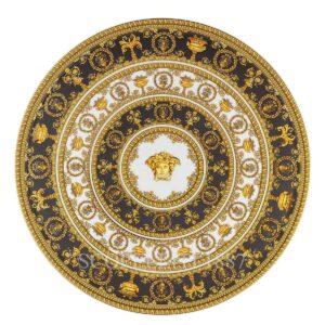 versace tartplate on foot i love baroque