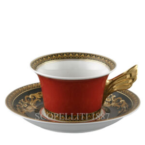 versace tea cup and saucer medusa