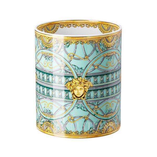 versace vase 18 cm scala palazzo green
