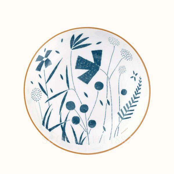 hermes a walk in the garden cereal bowl 16 5 cm