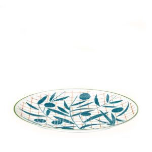 hermes a walk in the garden dessert plate blue 21 cm 02