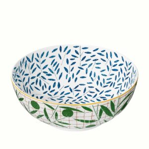 hermes a walk in the garden salad bowl 24 cm