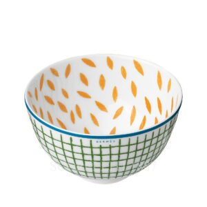hermes a walk in the garden small bowl 9 5 cm