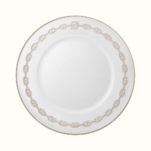 hermes chaine d ancre platine american dinner plate 27 5 cm