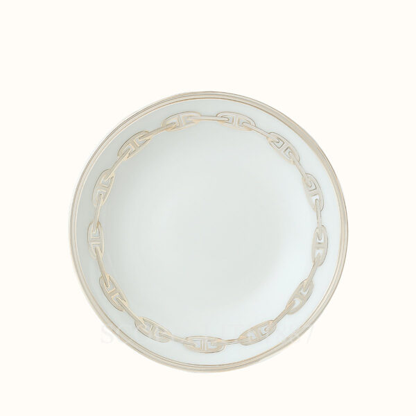 hermes chaine d ancre platine soy dish 10 cm
