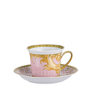versace cappuccino cup and saucer les reves byzantins