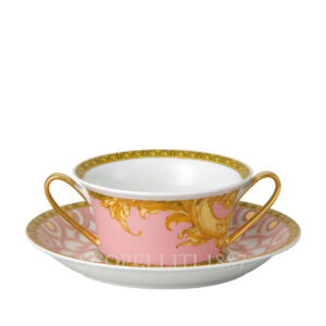 versace creamsoup cup and saucer les reves byzantins