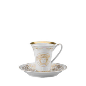 versace espresso cup and saucer medusa gala gold