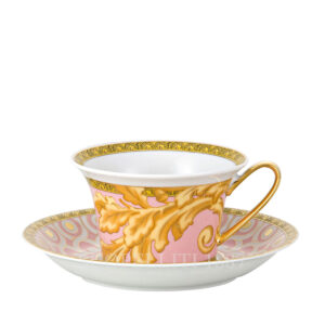 versace cup and saucer 4 low les reves byzantins