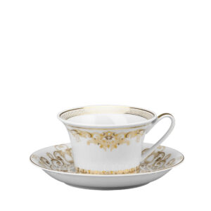 versace cup and saucer 4 low medusa gala