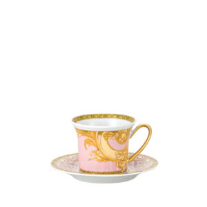 versace espresso cup and saucer les reves byzantins