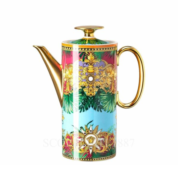versace jungle animalier coffee pot