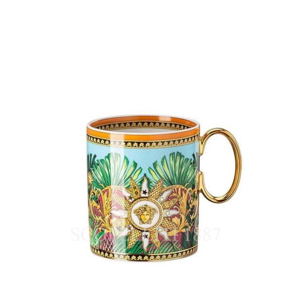 versace jungle animalier mug with handle