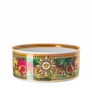 versace jungle animalier salad bowl 22 cm