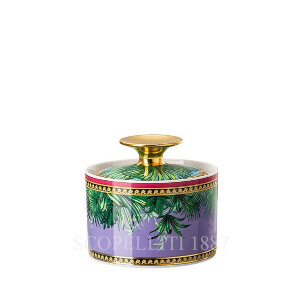 versace jungle animalier sugar bowl
