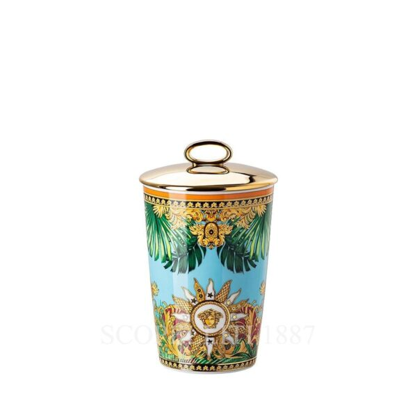 versace jungle animalier table light with scented wax 2 pcs