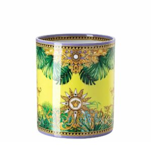 versace jungle animalier vase 18 cm