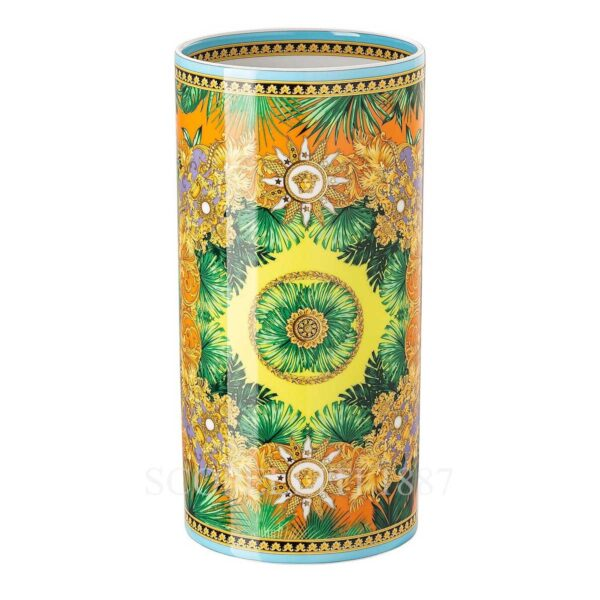 versace jungle animalier vase 24 cm