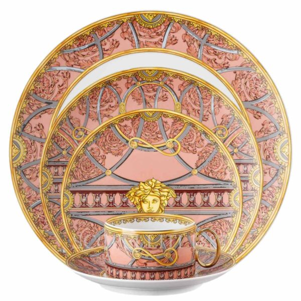 ersace la scala del palazzo rose 5 piece place setting