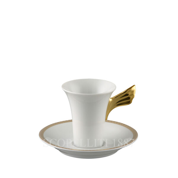 versace medaillon meandre d or coffee cup and saucer