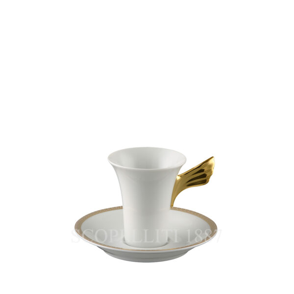versace medaillon meandre d or espresso cup and saucer