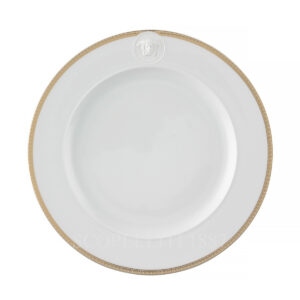versace medaillon meandre d or plate 27 cm