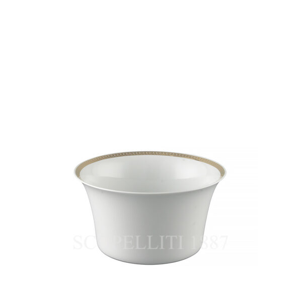 versace medaillon meandre d or small salad bowl 17 cm