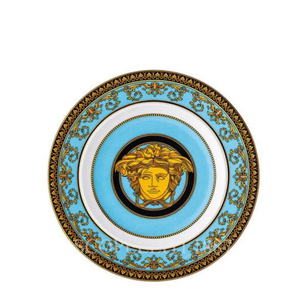 versace medusa colours–celeste plate 18 cm