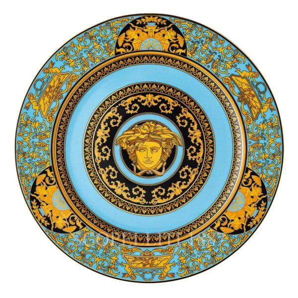 versace medusa colours–celeste service plate 30 cm