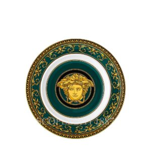 versace medusa colours juniper plate 18 cm