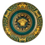versace medusa colours juniper service plate 30 cm