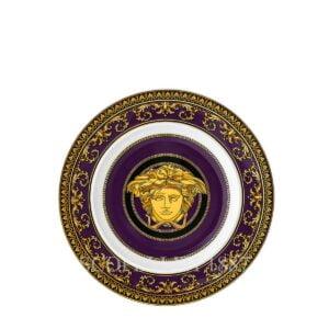 versace medusa colours marine plate 18 cm