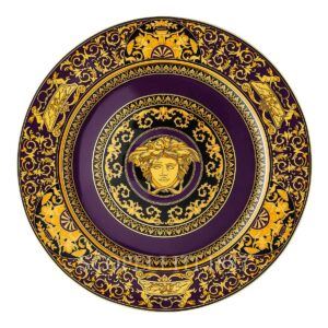 versace medusa colours marine service plate 30 cm
