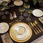 versace medusa gala tableware collection