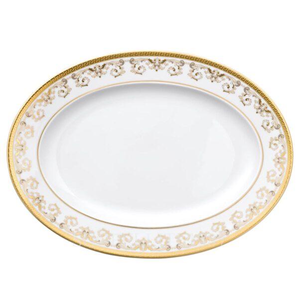 versace platter 34 cm medusa gala gold
