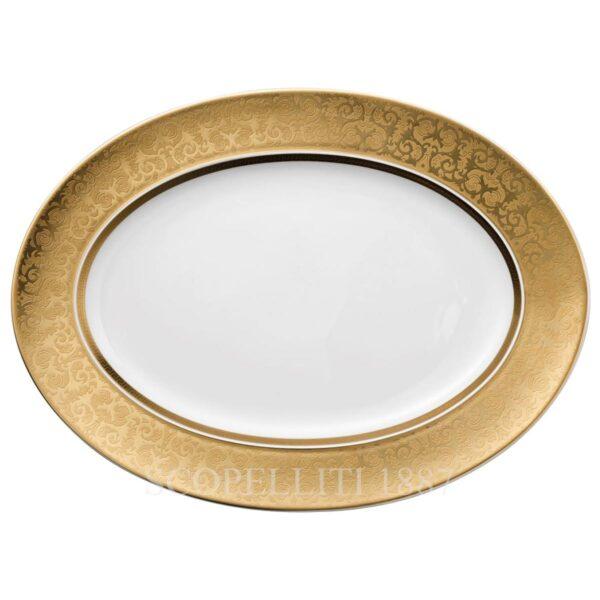 versace platter 40 cm medusa gala gold