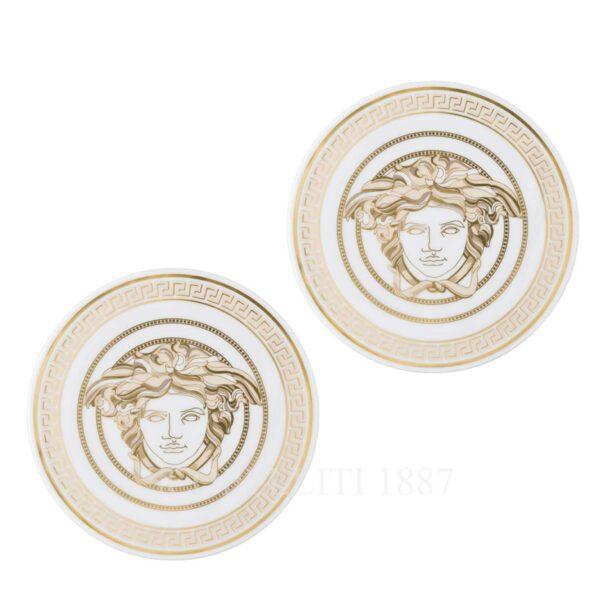 versace porcelain coaster 2 pcs medusa gala