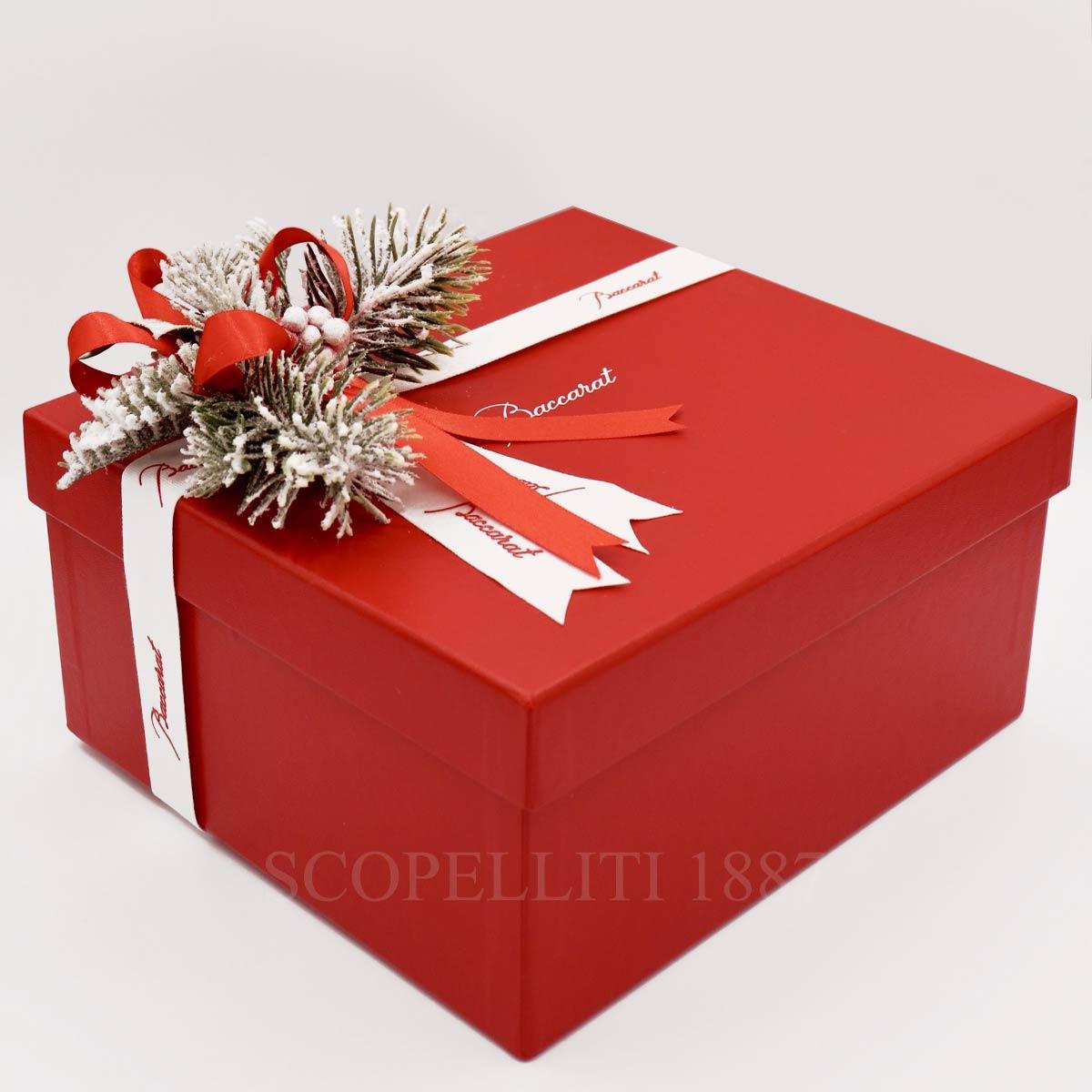 baccarat christmas box