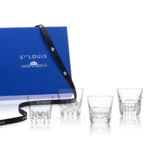 whisky glass saint louis gift for him