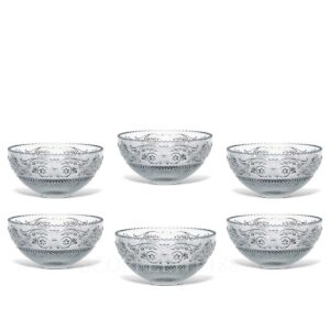 baccarat arabesque dessert set