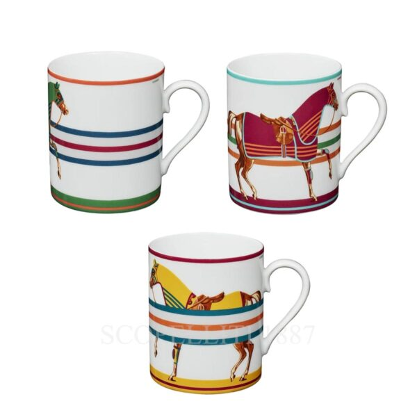 cheval couverture hermes mugs