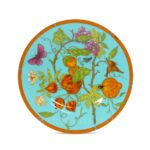 hermes siesta island bread and butter plate