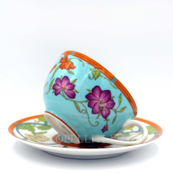 hermes siesta island tea cup and saucer