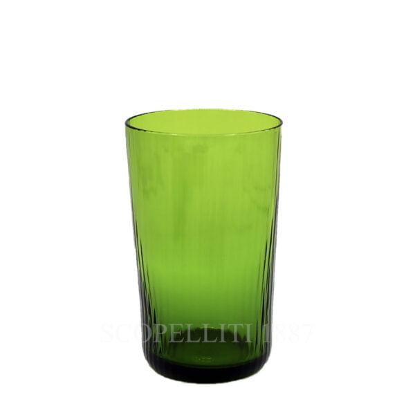 hermes quadrige crystal green highball