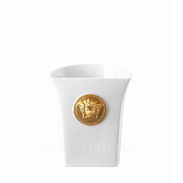 versace vase 18 cm white medusa madness